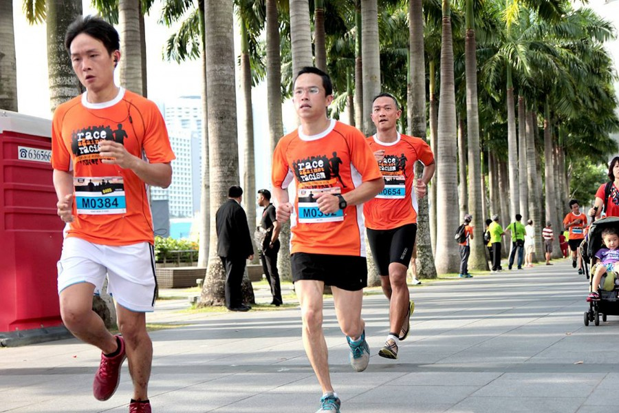 Orange Ribbon Run 2014