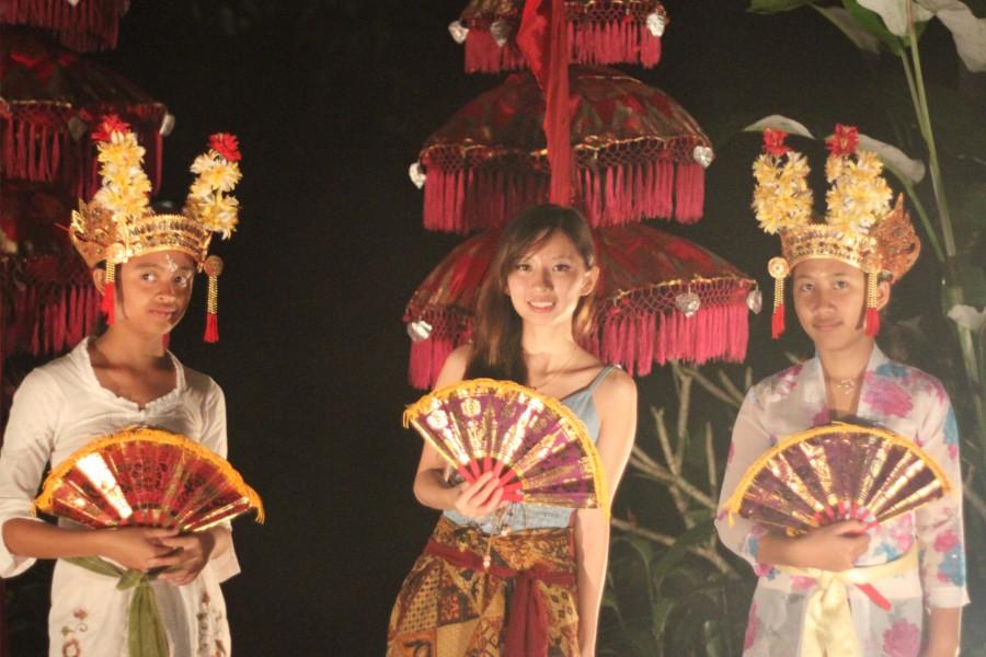 Bebalihan Dance in Bali