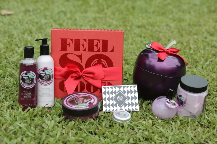 Last minute shopping with gifts from The Body Shop