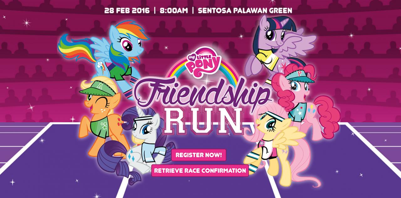 My Little Pony Friendship Run