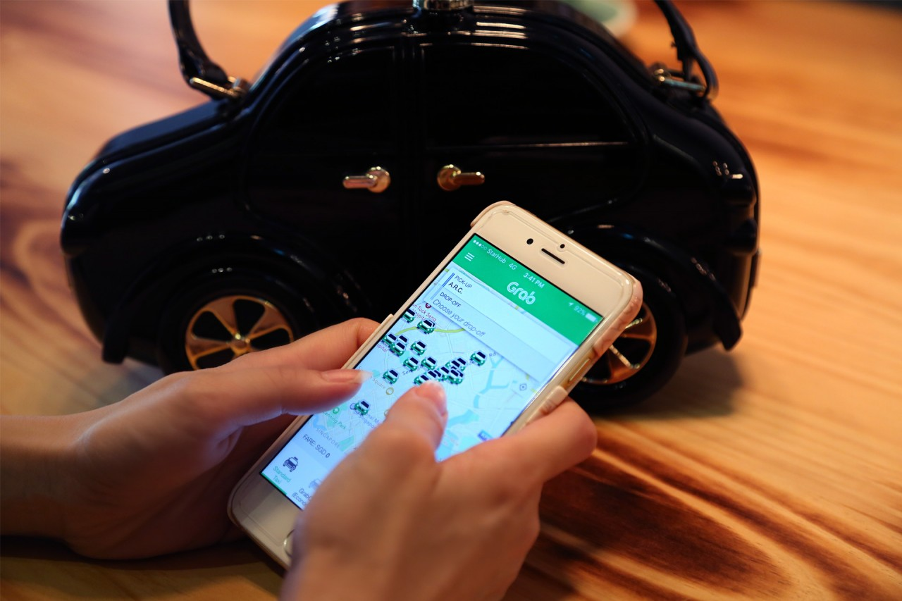 GRAB – Taxi, Car, Hitch, Express all in one App