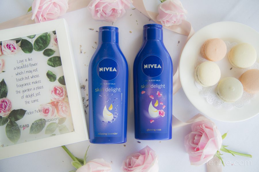 NIVEA Skin Delight – How to show off skin delightfully
