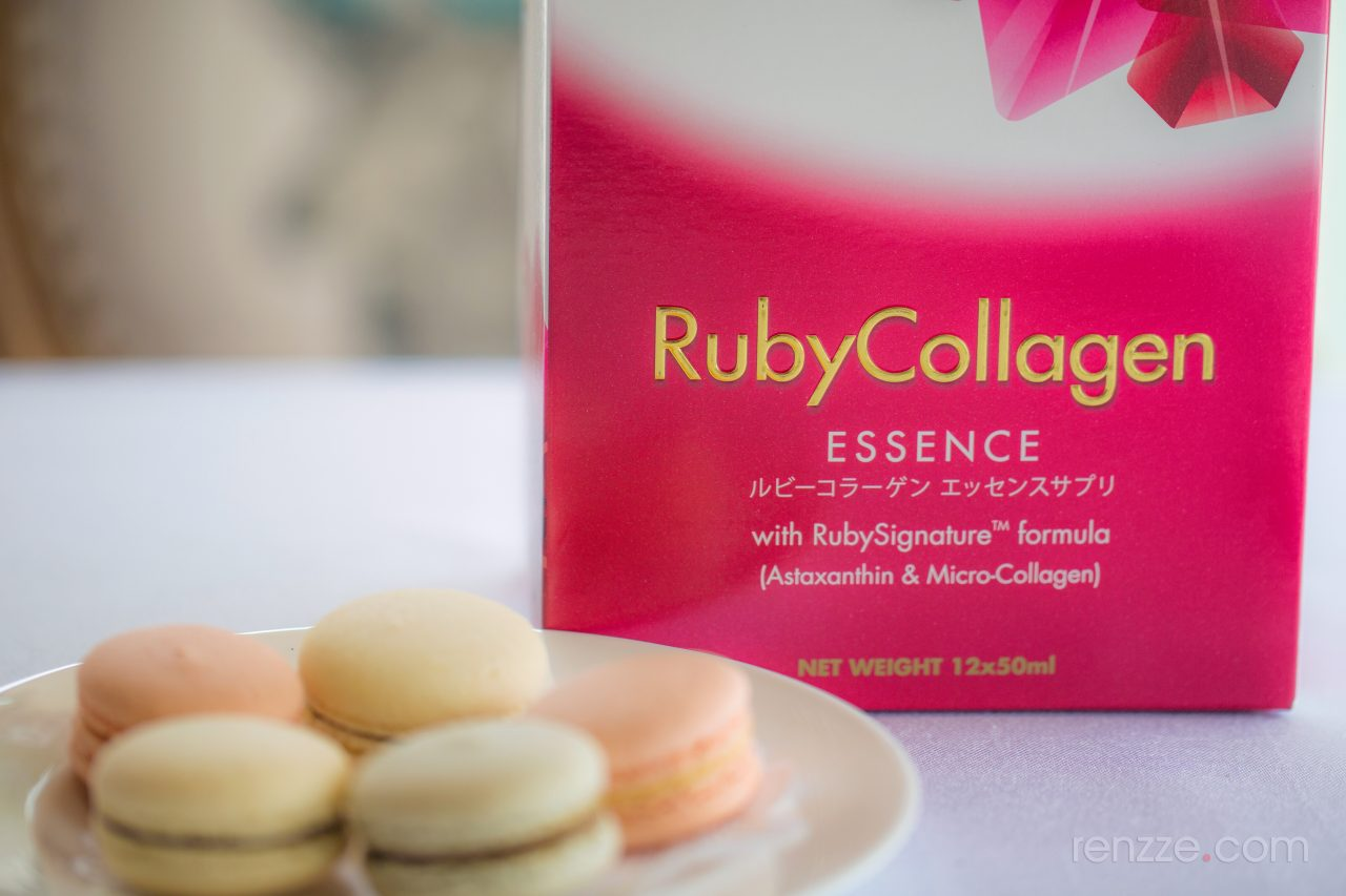 Better skin in 6 weeks with BRAND'S® InnerShine® RubyCollagen Essence