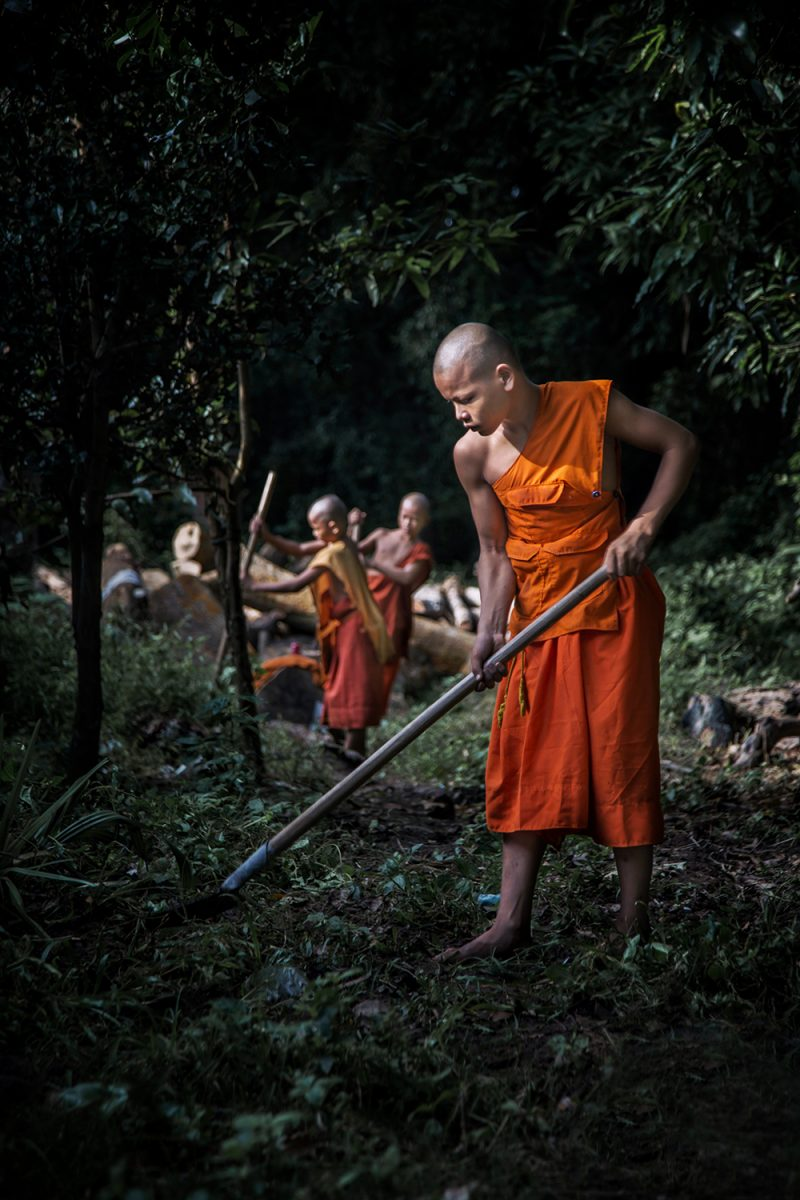 Photographing the Young Monks of Cambodia