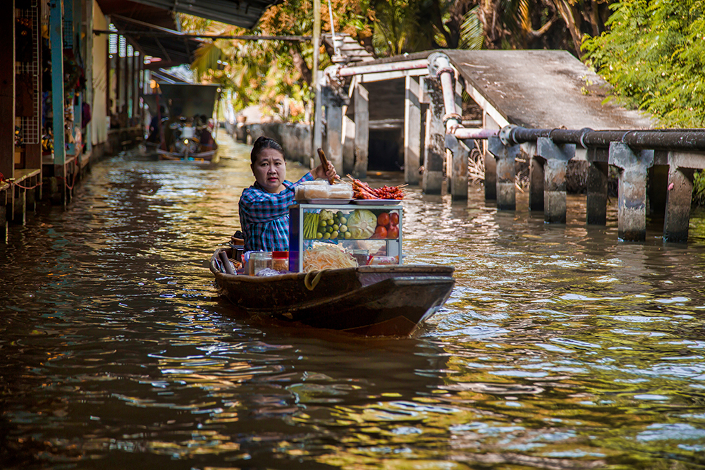 Thailand's Amphawa Floating Market